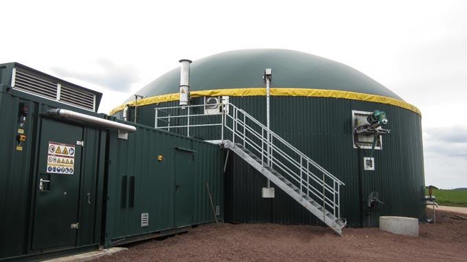 Aus Gülle und Mist wird Biogas- 75KW Biogasanlagen