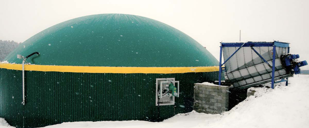 ÖKOBIT 75KW Biogasanlage in Binscheid, Rheinland-Pfalz