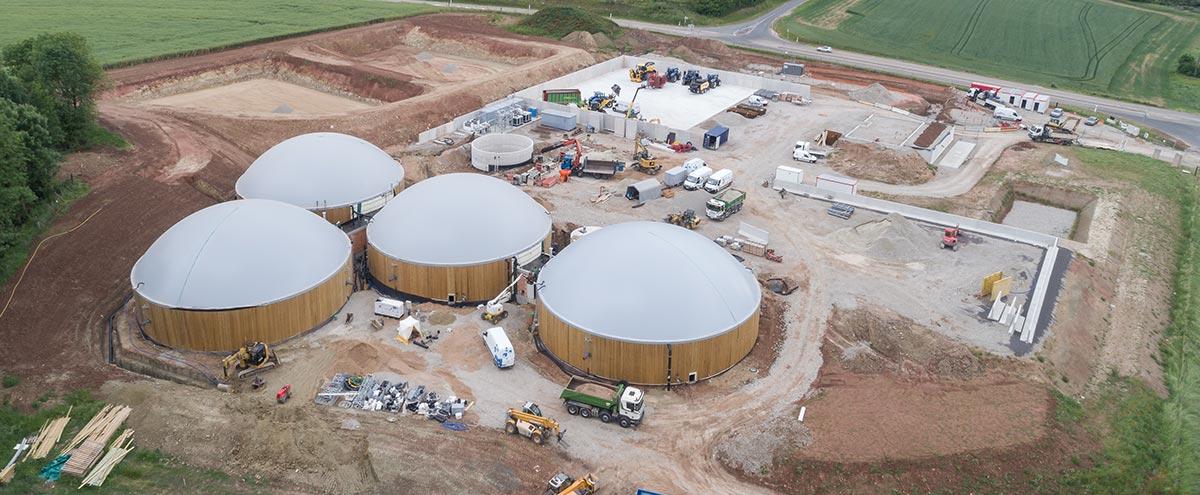 Erste Biogasanlage in Haraucourt sur Seille geht im November ans Netz.