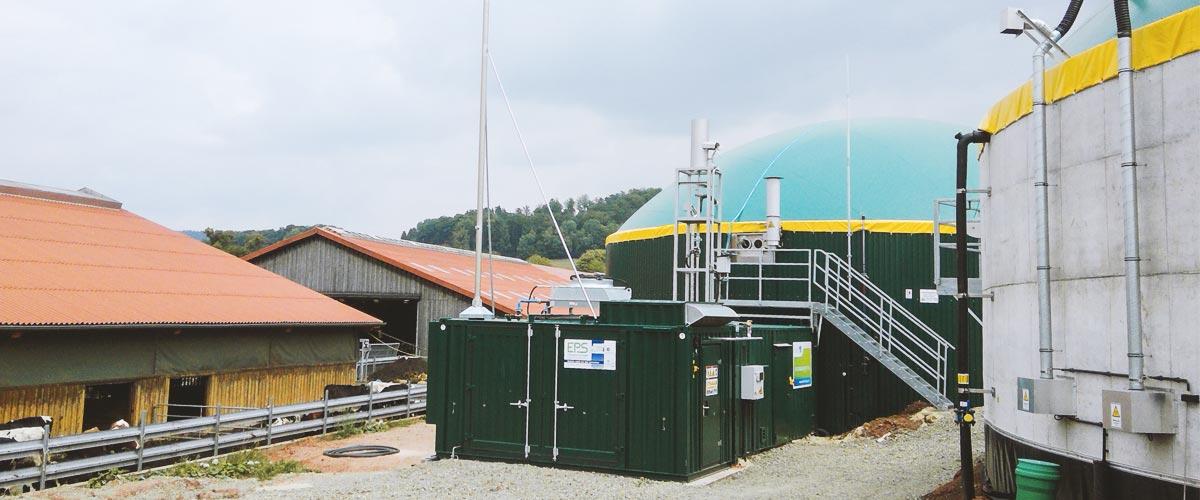 Hochwertiger Dünger für den Biobetrieb kommt aus der eigenen Biogasanlage
