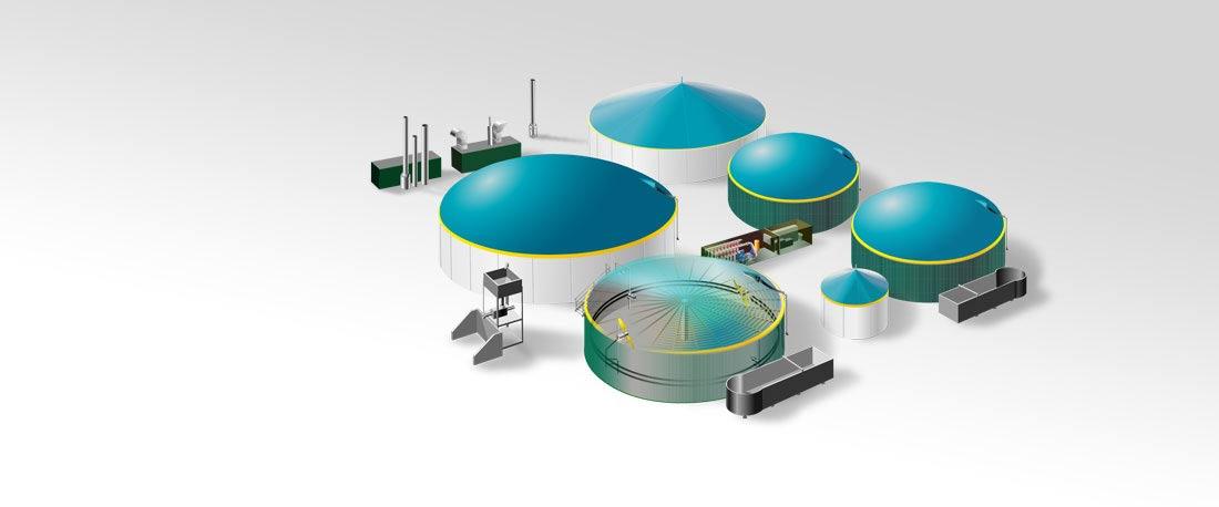 Die Biogasbranche bietet vielseitige Jobmöglichkeiten. Diese Grafik zeigt eine Auswahl der verschiedenen Stellenangebote bei ÖKOBIT
